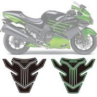 almofadas do tanque de combustível venda por atacado-Motocicleta 3D Tanque de combustível almofada de proteção decalques das etiquetas para a Kawasaki ZZR1400 2006 - 2016 2007 2008 2009 2010 2011 2012 2013 2014 2015 2016
