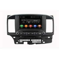 Wholesale wma mobile phone for sale - Group buy 4GB GB IPS Octa Core quot Android Car DVD Player for Mitsubishi Lancer DRS Radio GPS G WIFI Bluetooth USB Mirror link
