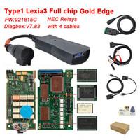 lexia3 citroen peugeot diagnostic tool großhandel-Großhandel Lexia 3 PP2000 voller Chip Diagbox V7.83 Firmware 921815C Lexia3 V48 / V25 für Citroen Peugeot Diagnostic Tool