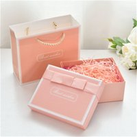 Wholesale high end gift bags for sale - Group buy High quality ribbon box high end gift box creative gift