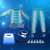 Wholesale used detox machines resale online - High Quality Air Bags Pressotherapy Machine Portable Air Wave Pressure Slimming Lymph Drainage Massage Detox home use slimming equipment