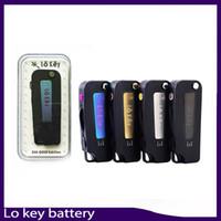 Wholesale flip batteries resale online - Lo Key Battery Flip Vape mah preheating setting Voltage V For Vape Cartridges VS imini vmod