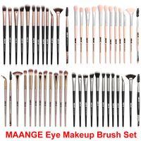 Wholesale maange cosmetics for sale - Group buy Makeup Brush set Powder Foundation Eye Shadow brushes Eye Eyebrow Eyelash Eyeliner Blending Brush MAANGE Cosmetic Brushes Make Up kit