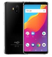 mobile großhandel-AllCall S1 5,5 Zoll 18: 9 Handy 2 GB RAM 16 GB ROM Android 8.1 MTK6580A Viererkabelkern Vier Kamera Dual 8MP + 2MP 5000mAh Smartphone