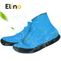 Wholesale plastic carry covers for sale - Group buy Elino Waterproof Shoe Cover for Men Women Shoes Elasticity Latex Rain Covers Easy Carry Overshoes Tear Resistant Boot Protector