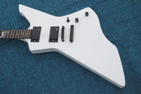 Wholesale explorer string online - white snakebyte james hetfield signature electric guitar with Rosewood fretboard Snake explorer