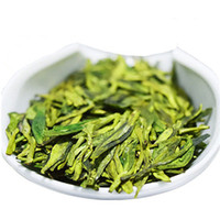 frisch organisch großhandel-Heiße Verkäufe 250g Chinese Organic Green Tea Longjing Dragon Well Raw Tea Krankenpflege Neue Frische Frühlings-Scented Tea Green Food