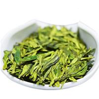 çiğ yeşil toptan satış-Sıcak satış 250g Çin Organik Yeşil Çay Longjing Dragon Şey Ham Çay Sağlık Yeni Taze Bahar Kokulu Çay Yeşil Gıda
