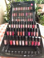 nyx lip lingerie venda por atacado-Dropshipping NYX SOFT MACHO de CREME DE LIP nyx 36 PCS Definir Batom Lip Gloss Fosco Sem Desbotamento lingerie vault 30 pc lipgloss