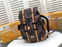 Wholesale canvas rucksacks backpacks for sale - Group buy CHRISTOPHER BACKPACK New Fashion Designer Large Capacity Hiking Backpack Student School Daypack Laptop Bag Bookbag Rucksack Hekking Backpack