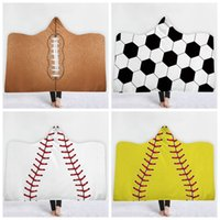 Wholesale girl towel hot for sale - Group buy 150 cm Hot sale baseball bath tower basketball Football children polyester blankets sports theme basketball bathing towels top quality