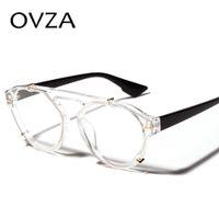 lunettes de soleil goth achat en gros de-vente en gros rétro lunettes de soleil punk femmes hommes vintage marque designer lunettes de soleil goth style mode transparent lunettes S2073