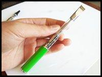 baterías evod al por mayor-510 botones precalentamiento de la batería 450 mah Paso USB a través de EVOD vv estilo de precalentamiento batería abierta cartuchos de cerámica vaporizador 510 hilos