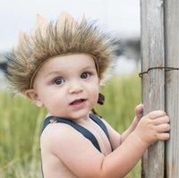 ingrosso cappelli di volpe di volpe-Baby Crown Headband Hat Toddler regolabile Fox Tail Head Band Kis Headwear Accessori Fotografia Pro