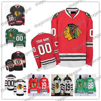 Wholesale blackhawks youth jerseys for sale - Group buy Custom Chicago Blackhawks OLD BRAND Mens Womens Youth Winter Classic Green White Red Black Any Name Number Stitched Hockey Jerseys S XL