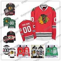 ingrosso pullover donna nero-Personalizzato Chicago Blackhawks OLD BRAND Mens Womens Youth Winter Classic Verde Bianco Rosso Nero Qualsiasi nome Numero Maglie Hockey cucite S-4XL