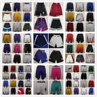 personalizar jersey de brasil al por mayor-Barato al por mayor 18 19 20 nuevos pantalones cortos cosidos de calidad superior para hombre pantalones cortos talla S M L XL XXL envío gratis
