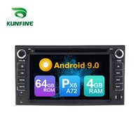 ingrosso kia sorento radio bluetooth-Android 9.0 Core PX6 A72 Ram 4G Rom 64G GPS per auto lettore multimediale multimediale per auto Kia Cerato / Sportage / Sorento / spectra Radio Headunit