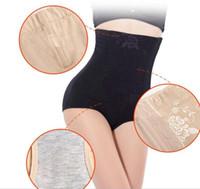 ingrosso sollevamento sollevamento shapewear-M-5XL Pluse Size Vita alta Donne che dimagriscono le mutandine di controllo Body Shaper Butt Lift con Tummy Control Underwear Shapewear Brief 2018