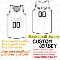 tailles de jersey de base cool achat en gros de-Maillot de basket personnalisé 2019 anynumber anyname flex base Base cool cousue taille S-4XL rouge blanc gris marine noir