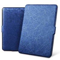 caixas para kindle paperwhite venda por atacado-Case para funda Kindle Paperwhite 1 2 3 6 '' Capa Super Slim Auto Acordar / Dormir Caso PU Inteligente para Kindle Paperwhite