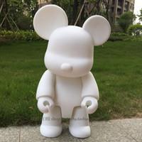 ingrosso figure di azione delle bambole bianche-Kaws 23cm Bearbrick Bear White Action Figure Modello da collezione Hot Toys Compleanni Regali Bambola PVC Nuovo Arrvial Spedizione gratuita