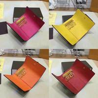 anahtar zincirleri toptan satış-2019 Toptan en kaliteli renkli deri anahtarlık kısa tasarımcı altı anahtar cüzdan kadın klasik fermuarlı cebi erkekler tasarım anahtarlık