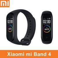 kluges armband oled großhandel-Original xiaomi mi band 4 3 smart armband uhr armband miband oled touchpad schlaf monitor herzfrequenz fitness tracker