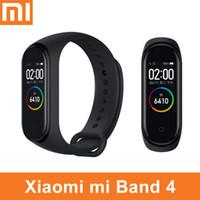 умный браслет оптовых-Оригинал Xiaomi Mi Band 4 3 Умный Браслет Часы Браслет Miband OLED Сенсорная Панель Монитор Сна Heart Rate Fitness Tracker