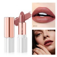 Wholesale rich lipstick for sale - Group buy O TWO O colors Plum Blossom Lipstick Nude Rich Color Waterproof Moisturizing Long Lasting Lightweight Lips Makeup DHL