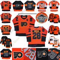 Wholesale hockey flyer for sale - Group buy 2019 Philadelphia Flyers Jersey Stadium Series Ivan Provorov Travis Konecny Claude Giroux Shayne Gostisbehere Carter Hart