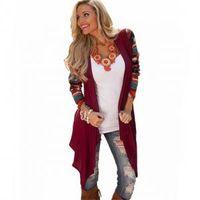 Wholesale women s warm clothing online - Women Long Sleeve irregular cardigan Lady Fashion Warm Shirts Cardigan Clothing Tops Casual Warm Coat Outwear TTA210