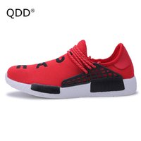 легкие дышащие кроссовки оптовых-QDD  Super Light Men Running Shoes Breathable Outdoor Sports Shoes for Man Running Krasovki Trainers Ultra Boosts Sneakers.