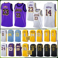 Wholesale ball for sale - James LeBron Los Angeles New Season Men Youth Kids Jerseys Lakers Kuzma Kyle Lonzo Brandon Ball Ingram Kobe Bryant City