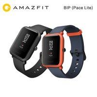молодежные часы оптовых-Xiaomi Amazfit Умные Спортивные Часы Huami Mi Fit Молодежный Водонепроницаемый GPS Compass Edition Бит Бит PACE Lite ЧСС Английский Versio