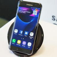 teléfonos android solo sim al por mayor-Reacondicionado Samsung Galaxy S7 s7 Edge G935F G935V Smartphone 5.5 '' 4GB RAM 32GB ROM Solo SIM NFC 12MP 1080P 4G LTE Teléfono móvil