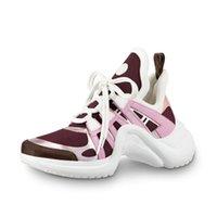 zapatos de fiesta de boda al por mayor-Moda nueva alta calidad al aire libre de las mujeres \ 's zapatos deportivos EN cuero zapatos deportivos de fiesta de lujo zapatos de boda Triple S botas casual