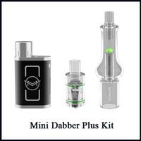 Wholesale 35w box mod resale online - Authentic VapMod Mini Dabber Plus Kit W Adjustable Wattage Vaporizer TC Box Mod For Wax Vape R13 Atomizer Tank Original E Cigarette