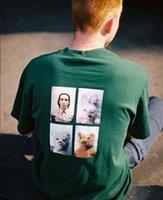 kaliteli kuklalar toptan satış-18FW Mike Kelley Ahh Gençlik Tee Ortak Kukla Ayı Baskı kısa Kollu Erkekler Ve Kadın Yüksek Kalite Dört Renk S ~ XL T-shirt HFBYTX215