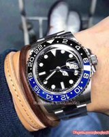 Wholesale most gifts for sale - Group buy High quality The most popular Christmas gift in automatic top class GMT watch stainless steel black dial men s mechanical luxury watch