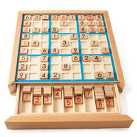 Wholesale games wood toys resale online - Sudoku Chess Digits To Can Only Put Once In Any Row Line and Check Intelligent Fancy Educational Wood Toys Happy Games Gif
