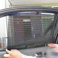 Wholesale car solar shield resale online - SEKINEW Great Car Window Sunshade Black Mesh Visor Shield Solar Protection Curtain
