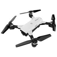 flug geführt großhandel-Ld - 250 Rc Hubschrauber Faltbarer Wifi Fpv Rc Drohne 2mp Kamera Höhe Flugbahn Flight Quadcopter Mit Led Light Drons