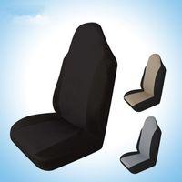 cubiertas de automóviles suv al por mayor-1 unids Funda de asiento de coche Durable Auto Asiento trasero delantero Protector de cojín Soporte de suministro Ajuste para todos los coches SUV Venta caliente EEA418