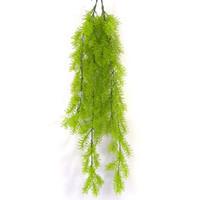 planta guirnalda al por mayor-Cuelgue Hiedra Plantas Colgante de pared Simulación Botánica Material de plástico Guirnaldas de la rota falsa Decoración verde Venta caliente 5 9msb1