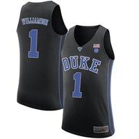versand trikots groihandel-Sehr beliebt NCAA DUKE Zion 1 Williamson Jerseys 12 Ja Morant Jersey freies Verschiffen