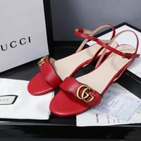 zapatos elegantes simples al por mayor-2019 verano nuevas sandalias planas simples y elegantes damas elegantes zapatos casuales moda clásica sandalias de mujer salvaje