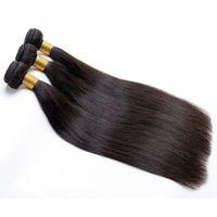 tingido cabelo peruano virgem venda por atacado-Feixes de Cabelo Humano Em Linha Reta Cabelo Indiano Brasileiro Malaio Extensões de Cabelo Virgem Peruano Pode Ser Tingido Pode Ser Permed Livre grátis
