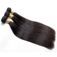 peruvian human hair ücretsiz gönderim bedeli toptan satış-İnsan Saç Demetleri Düz Saç Malezya Brezilyalı Hint Perulu Bakire Saç Uzantıları Boyalı Olabilir Boyalı Ücretsiz Kargo
