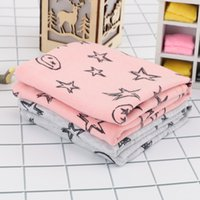 Wholesale baby girl scarf for winter resale online - Fashion Winter Warm Scarves Cotton Baby Scarf Baby Bibs For Boys Girls Stars Collar Lovely Kids Collars O Ring Neckerchief